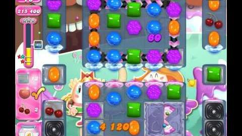 Candy Crush Saga Level 2035 ( New with 25 Moves ) No Boosters 2 Stars