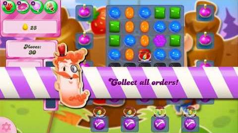 Candy Crush Saga Level 2610 NO BOOSTERS