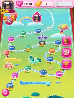 Rainbow Runway HTML5