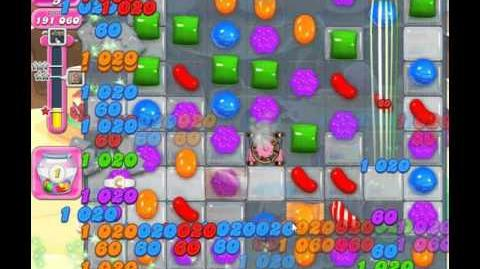 Candy Crush Saga, Level 1326, 1 Star, No Boosters