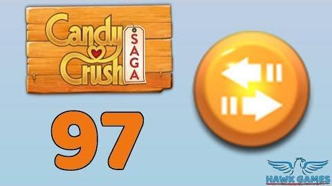 Candy Crush Saga 🎪 Level 97 (Moves level) - 3 Stars Walkthrough, No Boosters