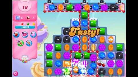 Candy Crush Saga - Level 3505 - No boosters ☆☆☆