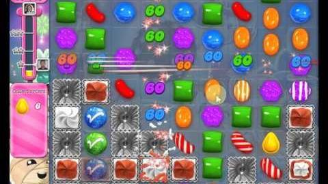 Candy Crush Saga LEVEL 1412 new version (30 moves)