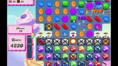 Candy Crush Saga Level 2768 NO BOOSTERS (20 moves)