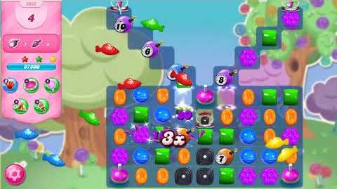 Candy Crush Saga Level 3062 NO BOOSTERS (16 moves)