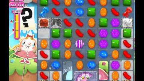 Candy Crush Saga level 736 (3 star, No boosters)