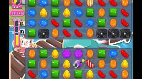 Candy Crush Saga Level 134 - 1 Star - no boosters