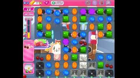 Candy Crush Saga Level 1147 No Boosters