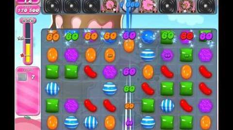 Candy Crush Saga Level 1612 (No booster)