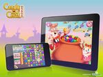 Candy Crush Saga mobile trailer bg