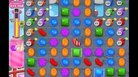 Candy Crush Saga Level 374 (buffed, 3 Stars)