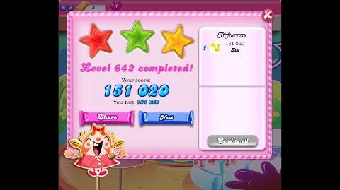 Candy Crush Saga Level 642 ★★★ NO BOOSTER