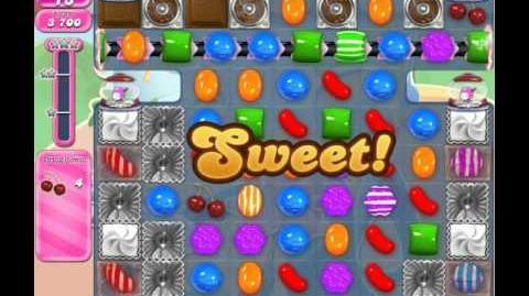Candy Crush Saga Level 1610 (No booster, 3 Stars)