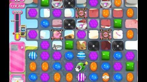 Candy Crush Saga Level 1646 ( New with 18 Moves ) ( 2 stars ) No Boosters