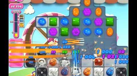 Candy Crush Saga Level 1766 ( New with 18 Moves ) No Boosters 2 Stars