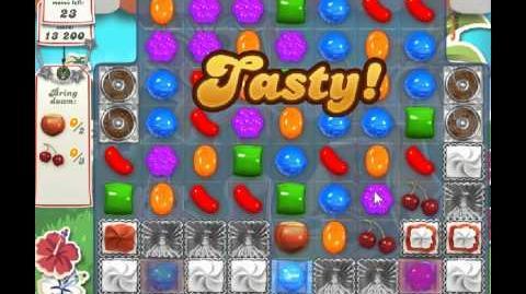 Candy Crush Saga Level 187 - 2 Star