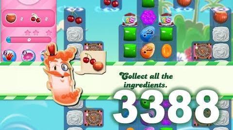 Candy Crush Saga Level 3388 (3 stars, No boosters)