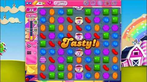 Candy Crush Saga - Level 301 - No boosters