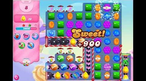 Candy Crush Saga - Level 3358 ☆☆☆