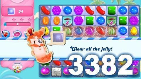 Candy Crush Saga Level 3382 (3 stars, No boosters)