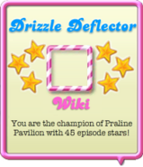Drizzle Deflector