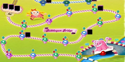 Bubblegum Bridge Map