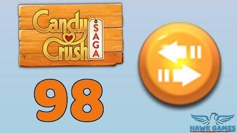 Candy Crush Saga 🎪 Level 98 (Moves level) - 3 Stars Walkthrough, No Boosters