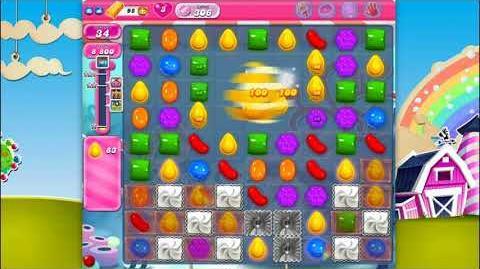 Candy Crush Saga - Level 306 - No boosters ☆☆☆