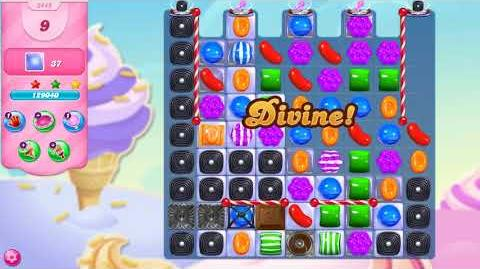 Candy Crush Saga Level 3449 NO BOOSTERS (18 moves)