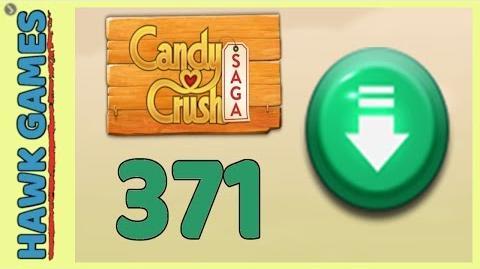 Candy Crush Saga Level 371 (Ingredients level) - 3 Stars Walkthrough, No Boosters