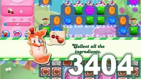 Candy Crush Saga Level 3404 (3 stars, No boosters)