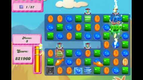 Candy Crush Saga level 2691 720HD No booster Add me on facebook