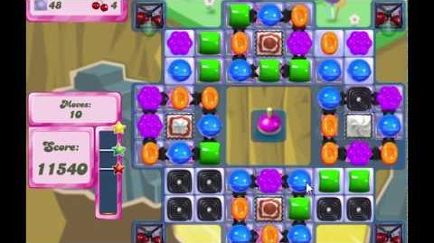 Candy Crush Saga Level 2586 NO BOOSTERS (12 moves)