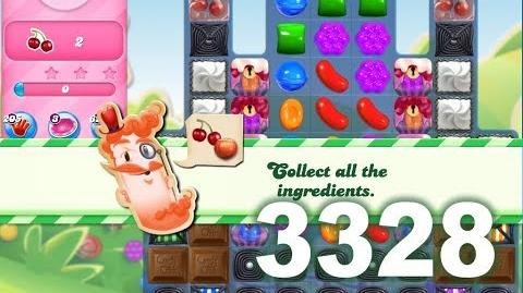 Candy Crush Saga Level 3328 (3 stars, No boosters)