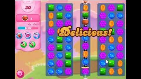 Candy Crush Saga Level 548 Walkthrough No Booster, 3 Stars New Version J
