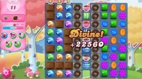 Candy Crush Saga Level 3047 NO BOOSTERS (17 moves)