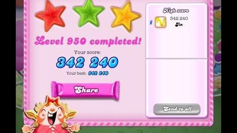 Candy Crush Saga Level 950 ★★★ NO BOOSTER