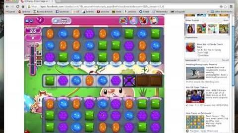 Candy Crush Saga level 77 tutorial - 3 stars