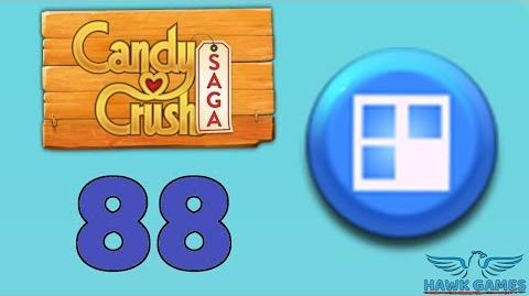 Candy Crush Saga 🎪 Level 88 (Jelly level) - 3 Stars Walkthrough, No Boosters