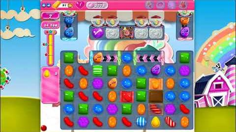 Candy Crush Saga - Level 2775 - No boosters ☆☆☆