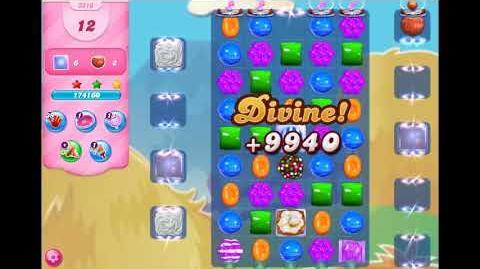 Candy Crush Saga - Level 3210 ☆☆☆