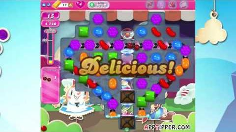 Candy Crush Saga Level 1232 - ★★ - No Boosters
