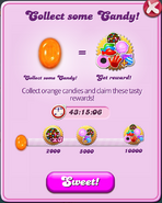 Weekend Event - Collect some Orange Candy!