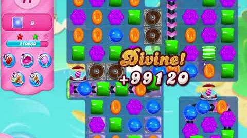 Candy Crush Saga Level 3083 NO BOOSTERS (18 moves)