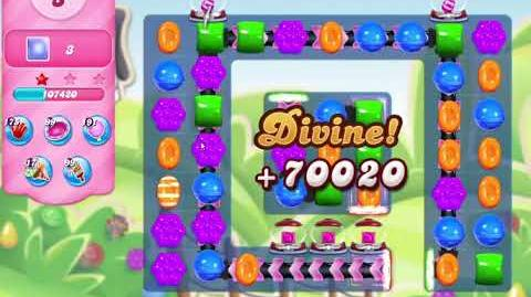 Candy Crush Saga Level 3165 NO BOOSTERS (9 moves)