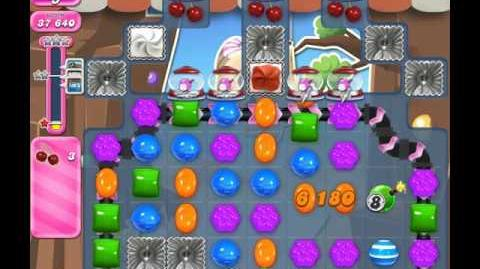 Candy Crush Saga Level 1854 ( New with 19 Moves ) No Boosters 1 Star