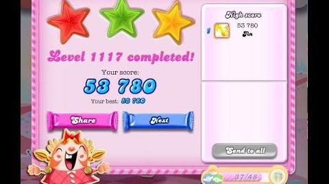 Candy Crush Saga Level 1117 ★★★ NO BOOSTER