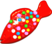 Red Colour Bomb Fish