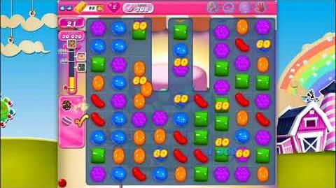Candy Crush Saga - Level 208 - No boosters ☆☆☆