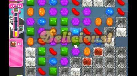 Candy Crush Saga Level 1873 ( New with 20 Moves ) No Boosters 3 Stars